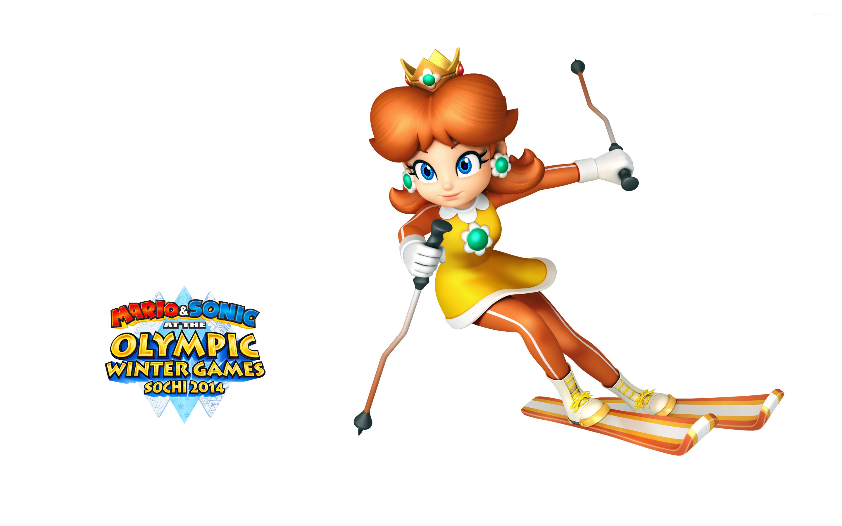 Mario Sonic At The Sochi 2014 Olympic Winter Games 7 Wallpaper