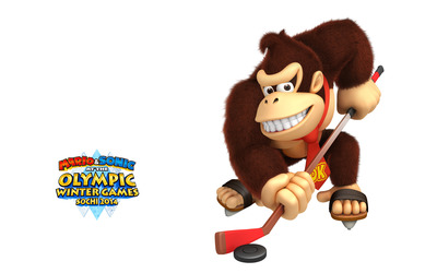 Mario & Sonic at the Sochi 2014 Olympic Winter Games [6] wallpaper