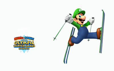 Mario & Sonic at the Sochi 2014 Olympic Winter Games [5] wallpaper