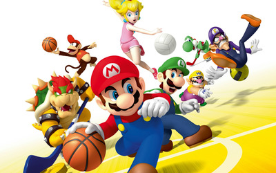 Mario Sports Mix wallpaper
