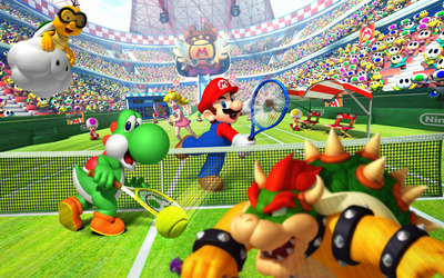 Mario Tennis wallpaper