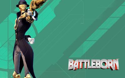 Marquis holding a gun - Battleborn wallpaper