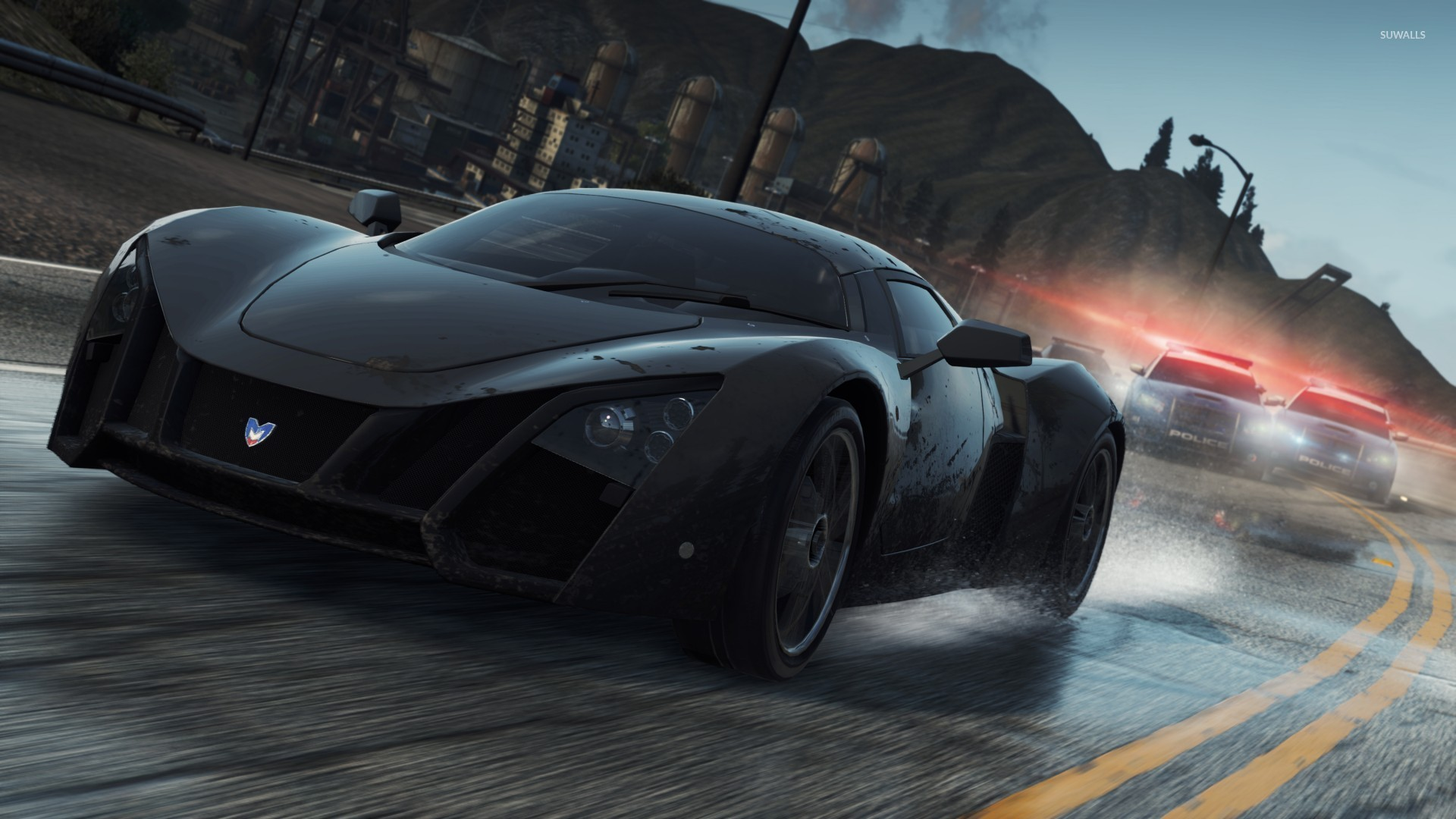 marussia b2 - need for speed: most wanted wallpaper - game