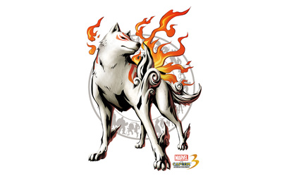 Marvel vs. Capcom 3 -  Amaterasu Okami wallpaper
