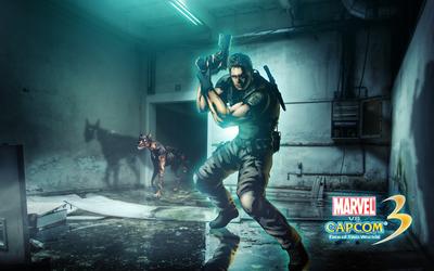 Marvel vs. Capcom 3 Chris Redfield wallpaper