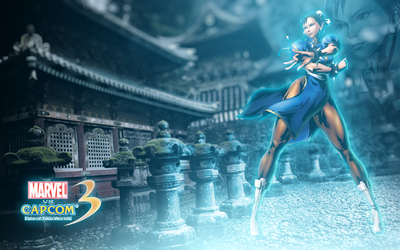Marvel vs. Capcom 3 Chun-Li wallpaper