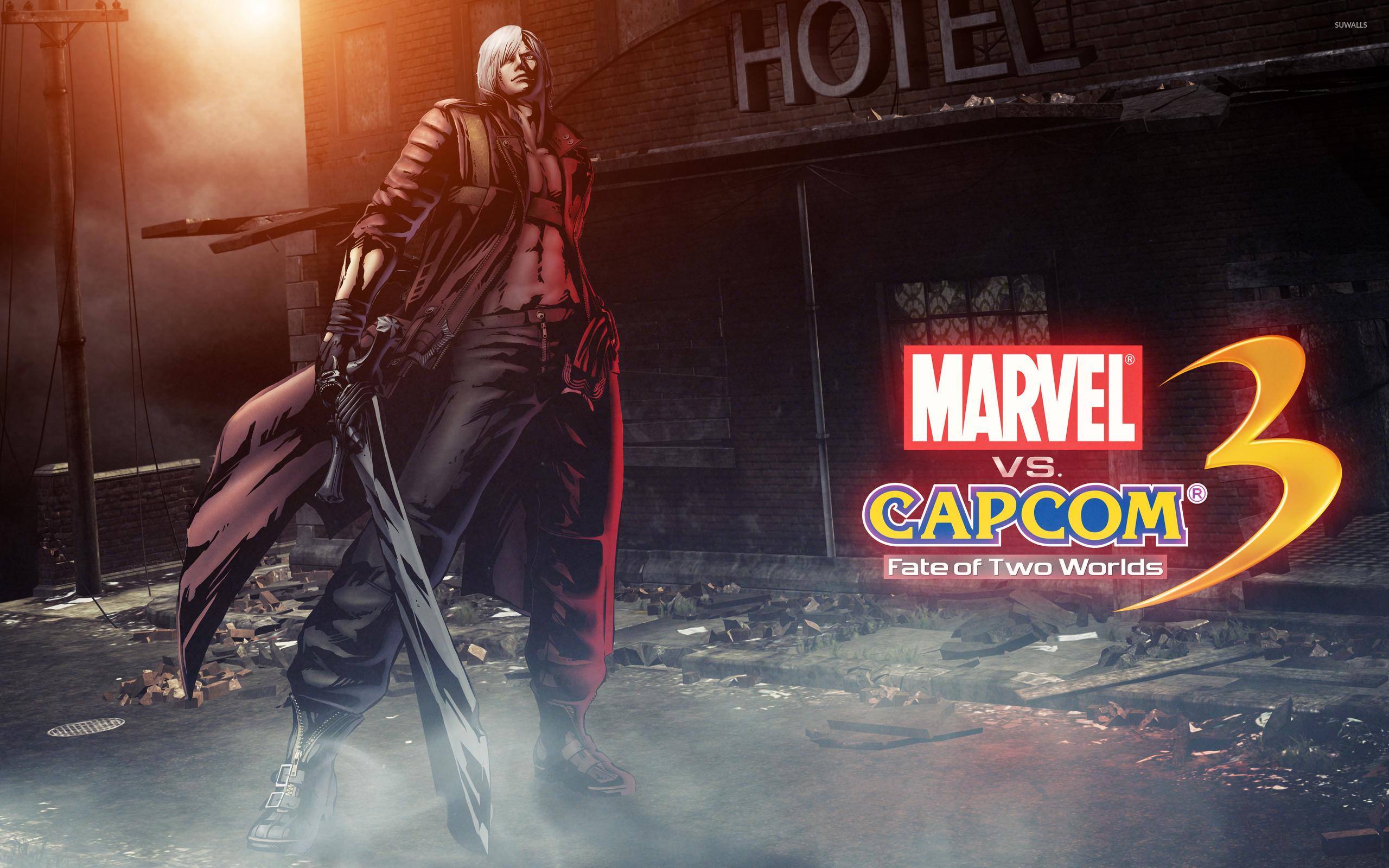 Marvel Vs Capcom 3 Dante Wallpaper Game Wallpapers 2710