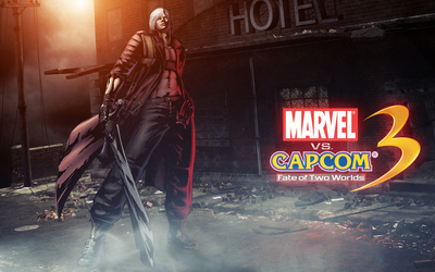 Marvel vs. Capcom 3 Dante wallpaper