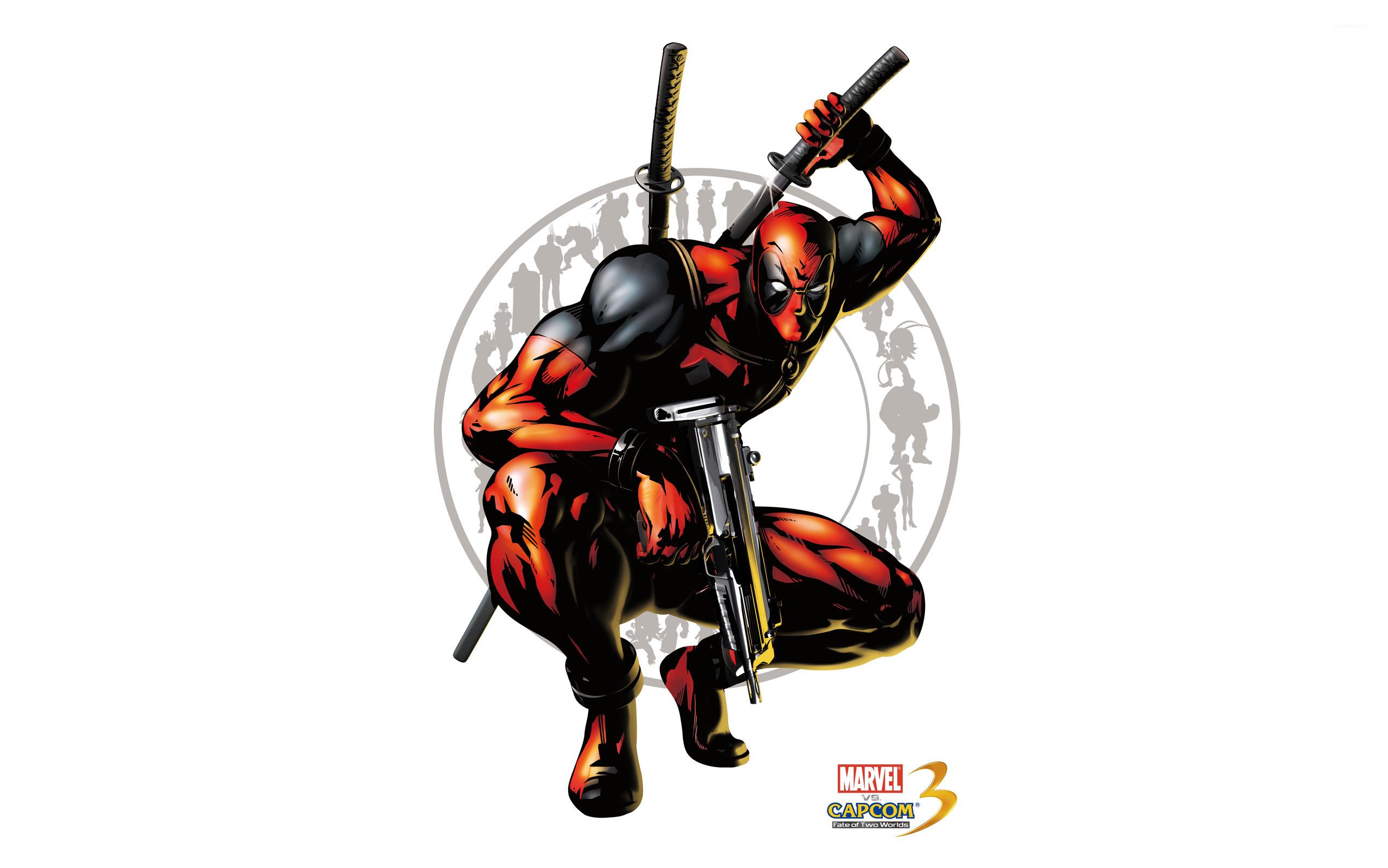 Marvel Vs Capcom 3 Deadpool Wallpaper Game Wallpapers 7201