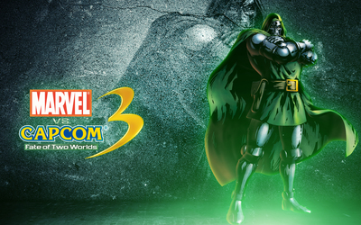 Marvel vs. Capcom 3 Doctor Doom wallpaper