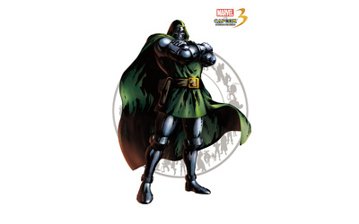 Marvel vs. Capcom 3 - Doctor Doom wallpaper