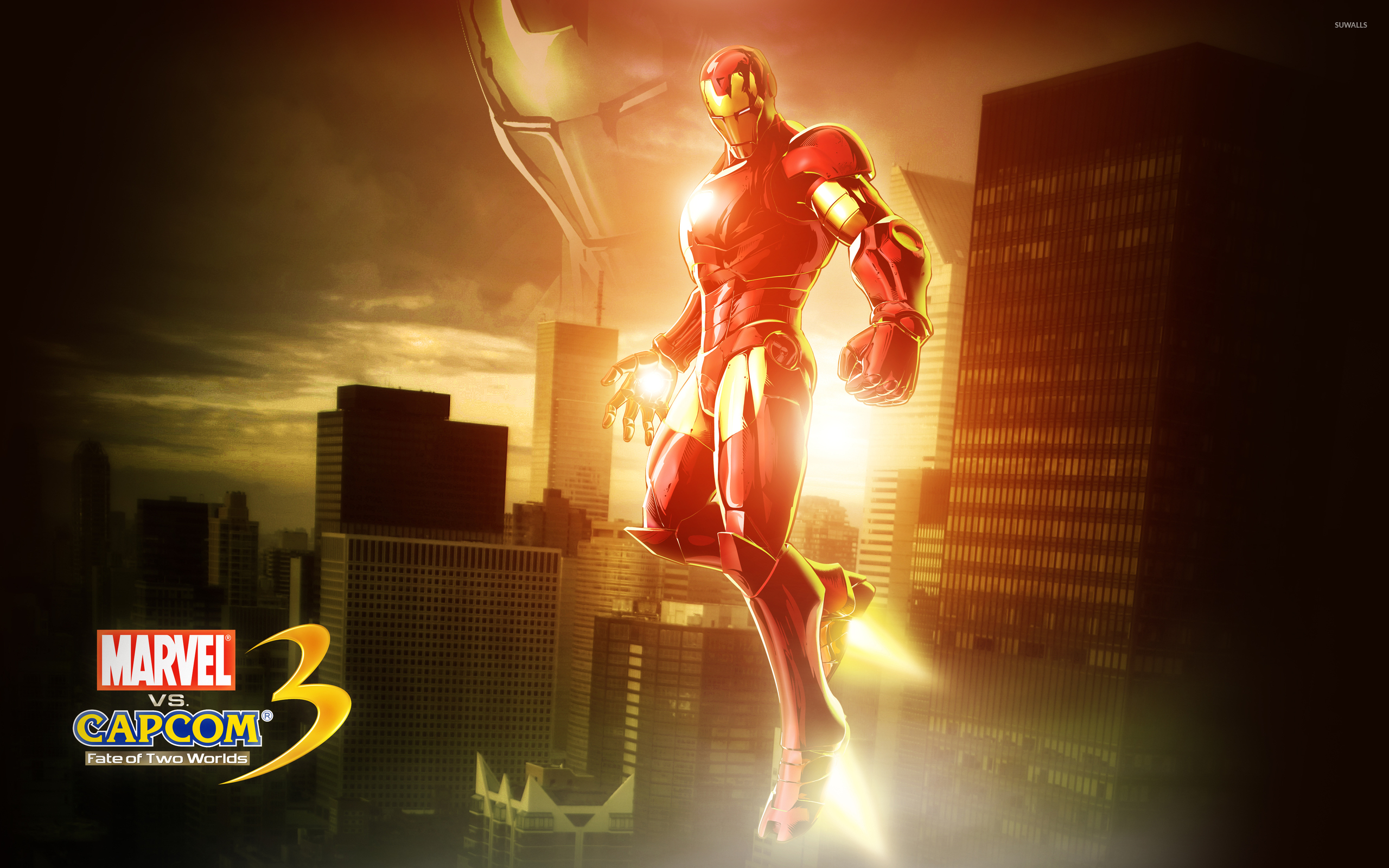 Marvel Vs Capcom 3 Iron Man Wallpaper