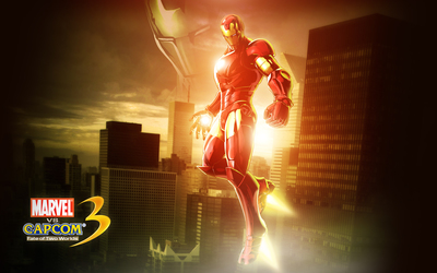 Marvel vs. Capcom 3 Iron Man wallpaper