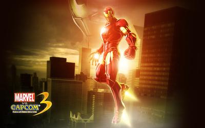 Marvel vs. Capcom 3 Iron Man wallpaper