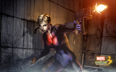 Marvel vs. Capcom 3 Jill wallpaper
