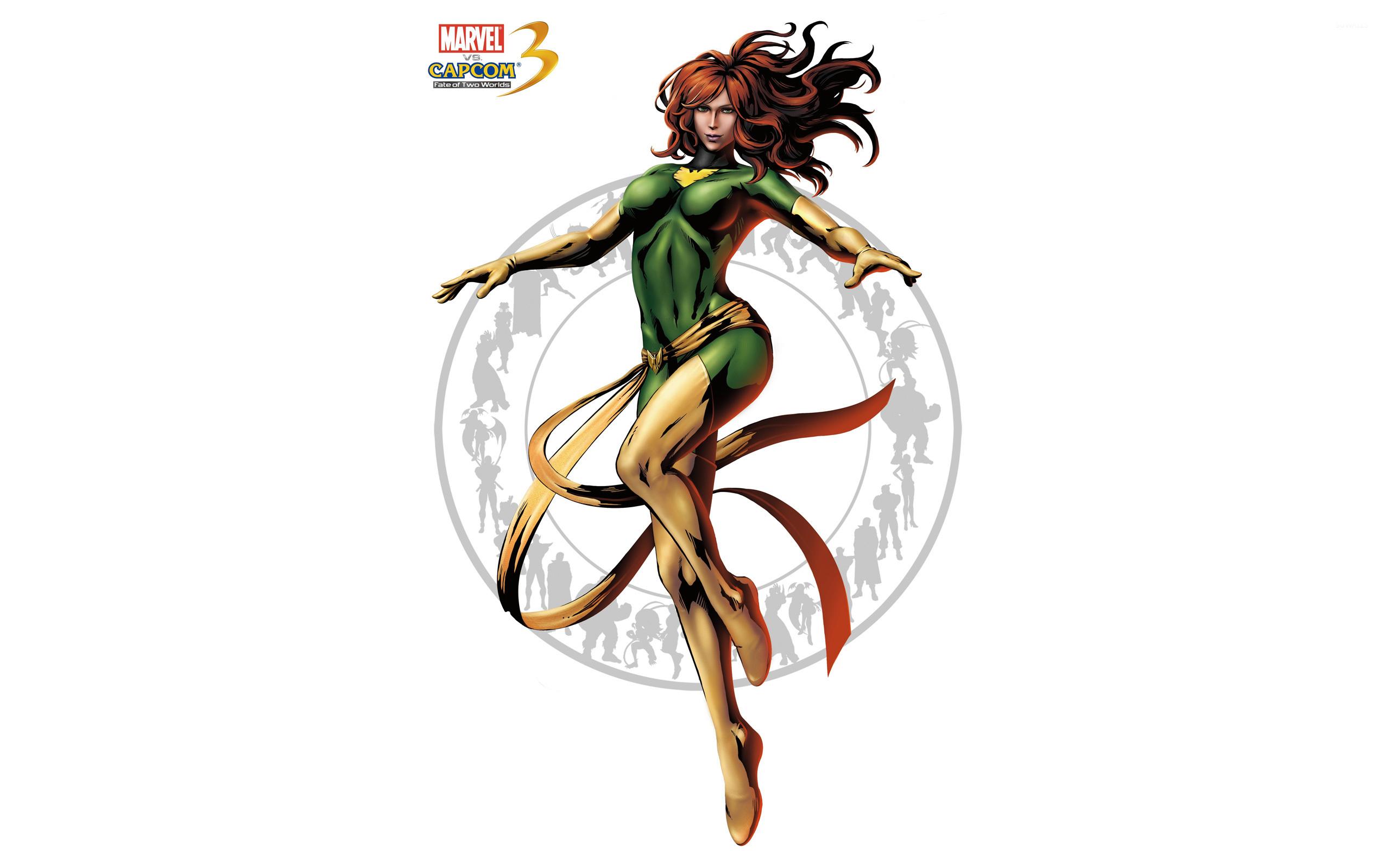 Marvel Vs Capcom 3 Phoenix Wallpaper Game Wallpapers