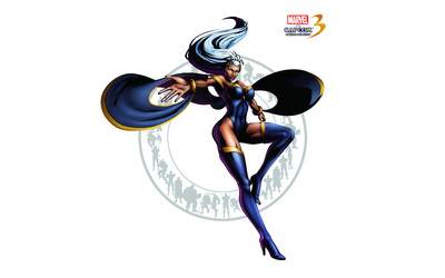 Marvel vs. Capcom 3 -  Storm wallpaper