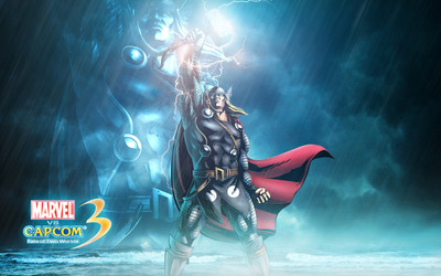 Marvel vs. Capcom 3 Thor wallpaper