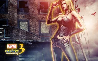 Marvel vs. Capcom 3 Trish wallpaper