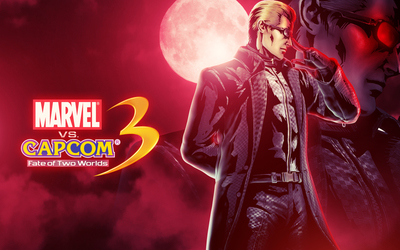 Marvel vs. Capcom 3 Wesker wallpaper