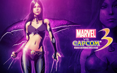 Marvel vs. Capcom 3 X-23 wallpaper