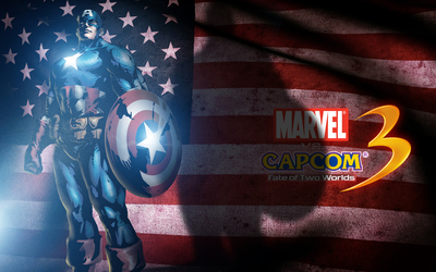 Marvel vs. Capcom Captain America wallpaper