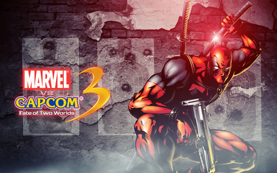 Marvel vs. Capcom Deadpool wallpaper