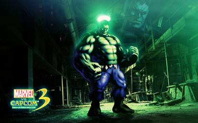 Marvel vs. Capcom Hulk wallpaper