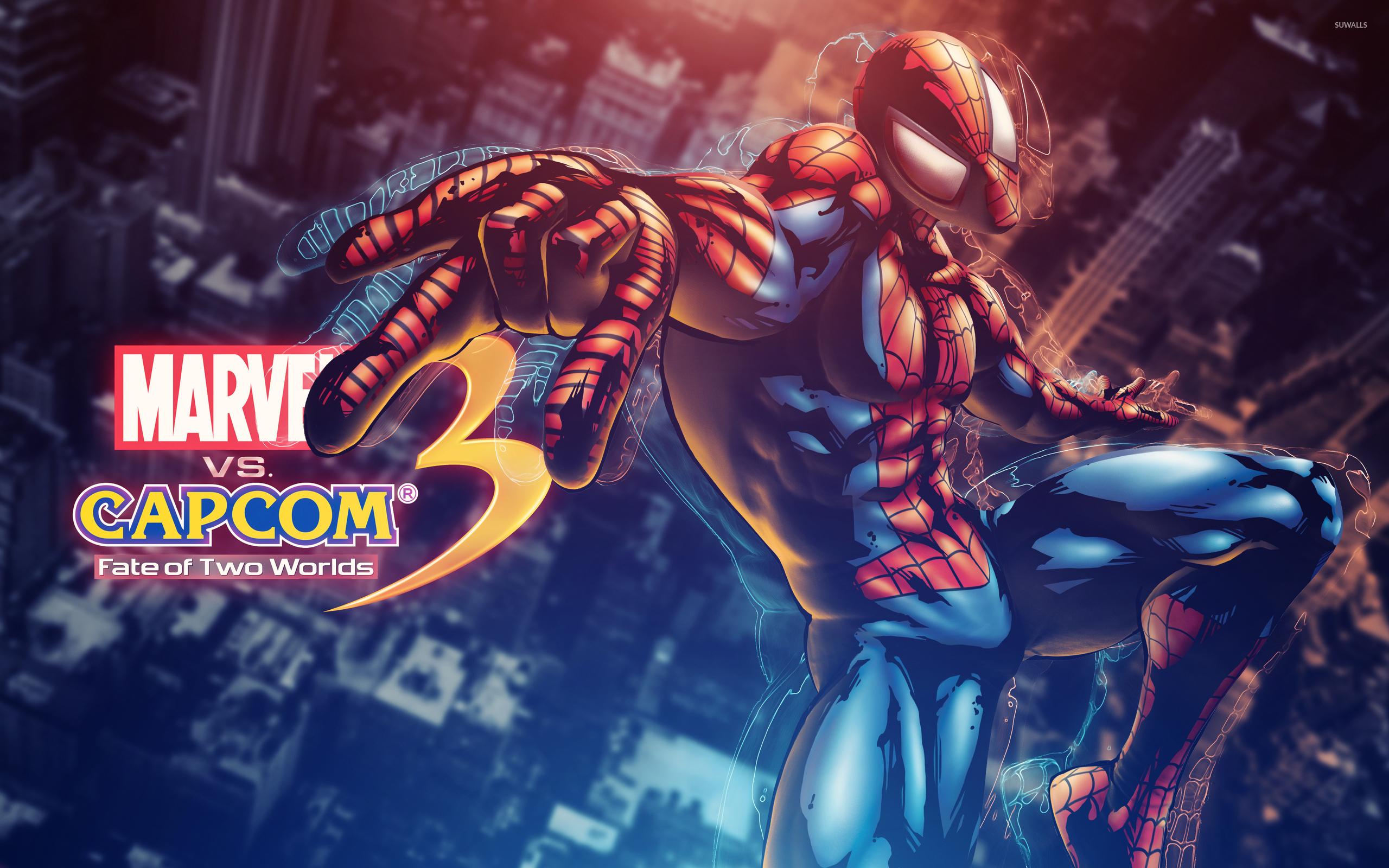 Marvel Vs Capcom Spider Man Wallpaper Game Wallpapers 2459
