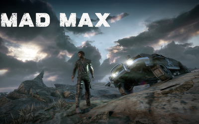 Max in the twilight - Mad Max wallpaper