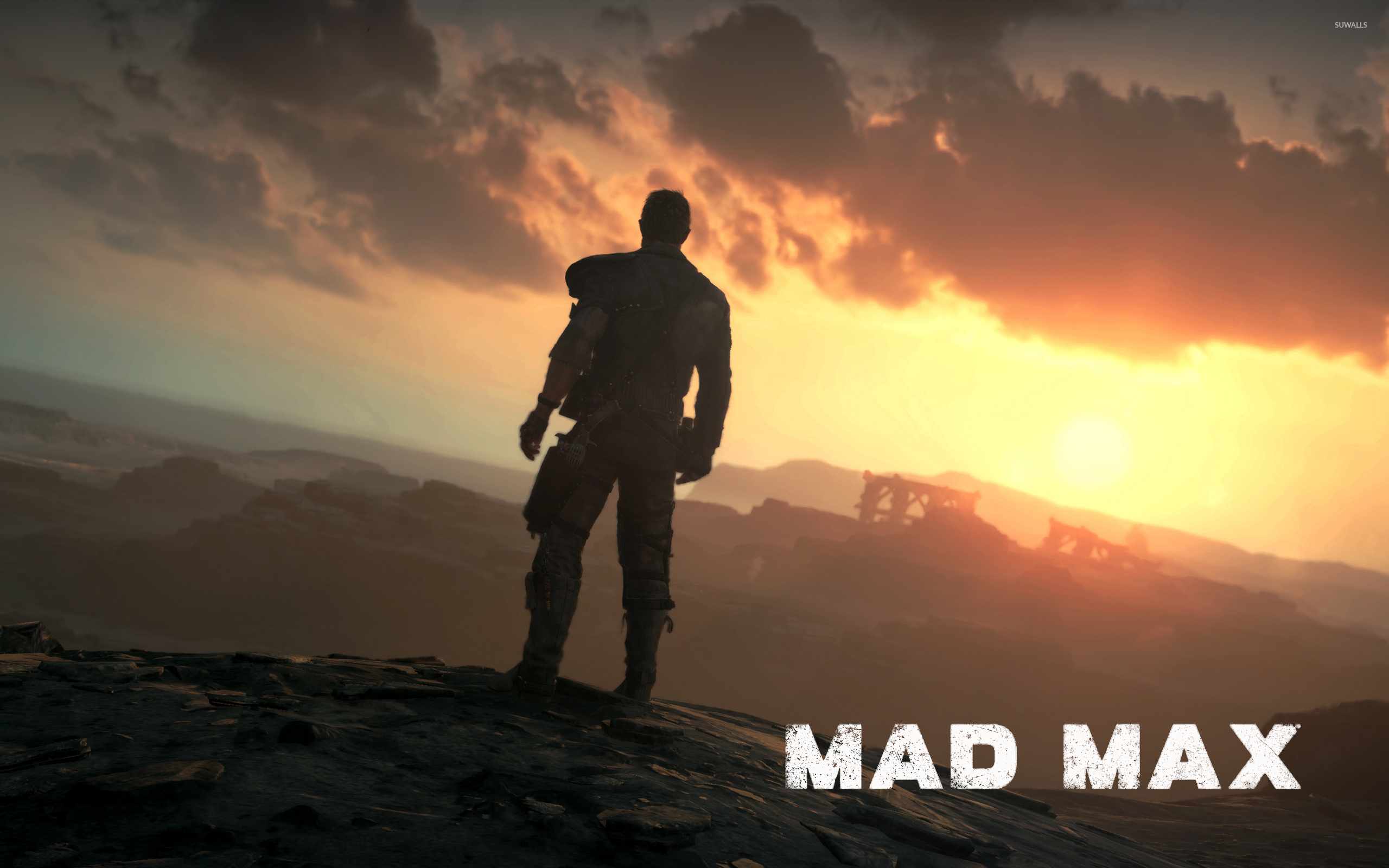 Max in the wasteland mad max wallpaper game wallpapers 49415 max in the wasteland mad max wallpaper voltagebd Image collections