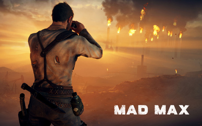 Max Rockatansky watching Gastown from a distance - Mad Max wallpaper