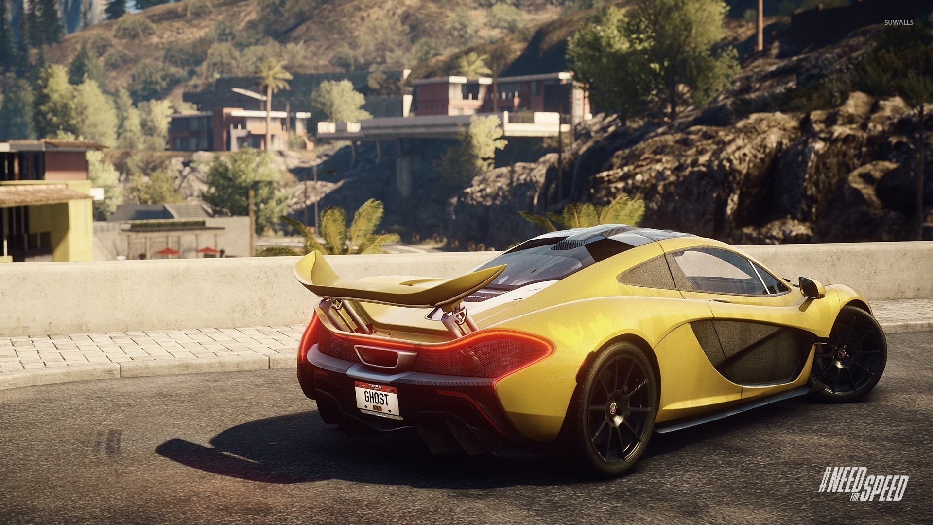 aston martin vanquish - need for speed: rivals wallpaper - game