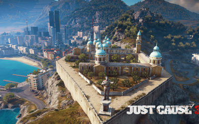 Medici city in Just Cause 3 wallpaper