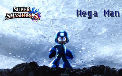 Mega Man - Super Mario Bros. wallpaper