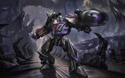 Megatron in Transformers wallpaper