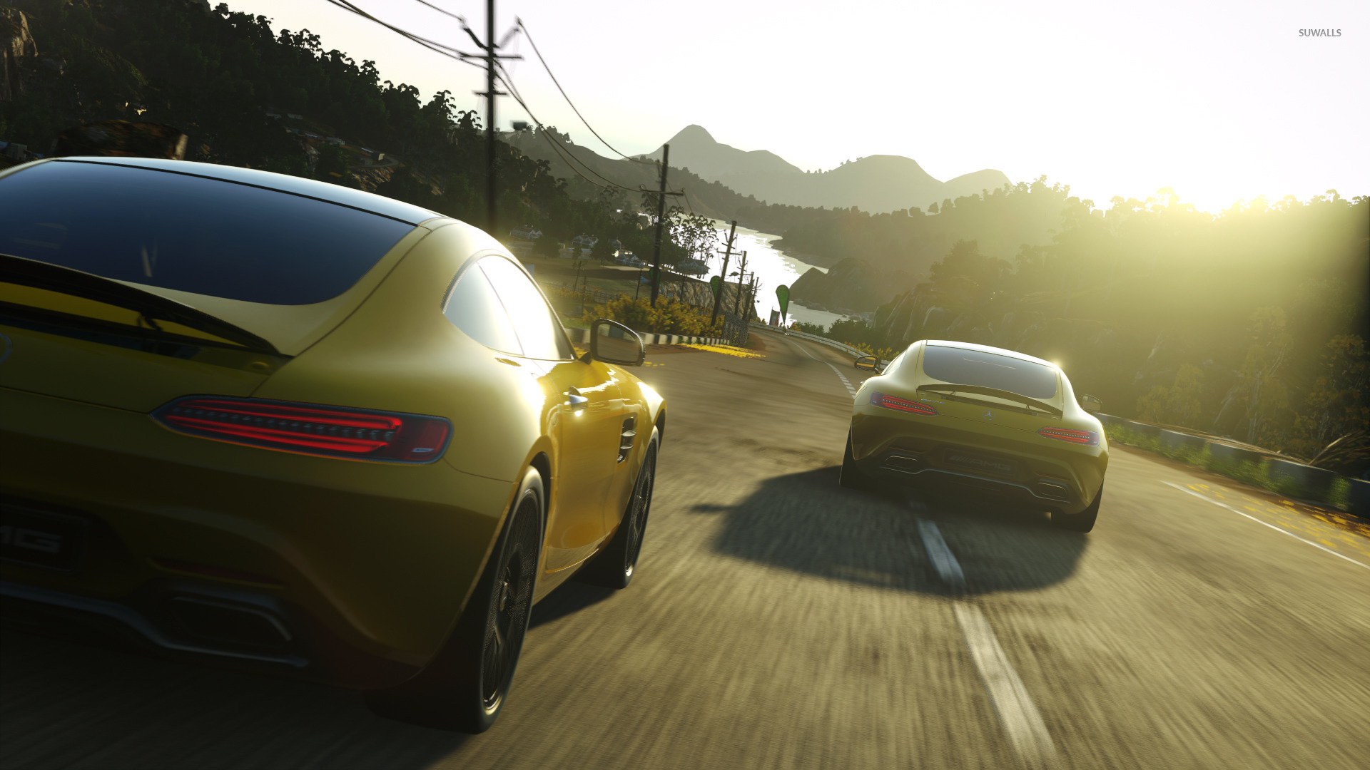 Mercedes amg gt driveclub wallpaper game wallpapers for Mercedes benz games