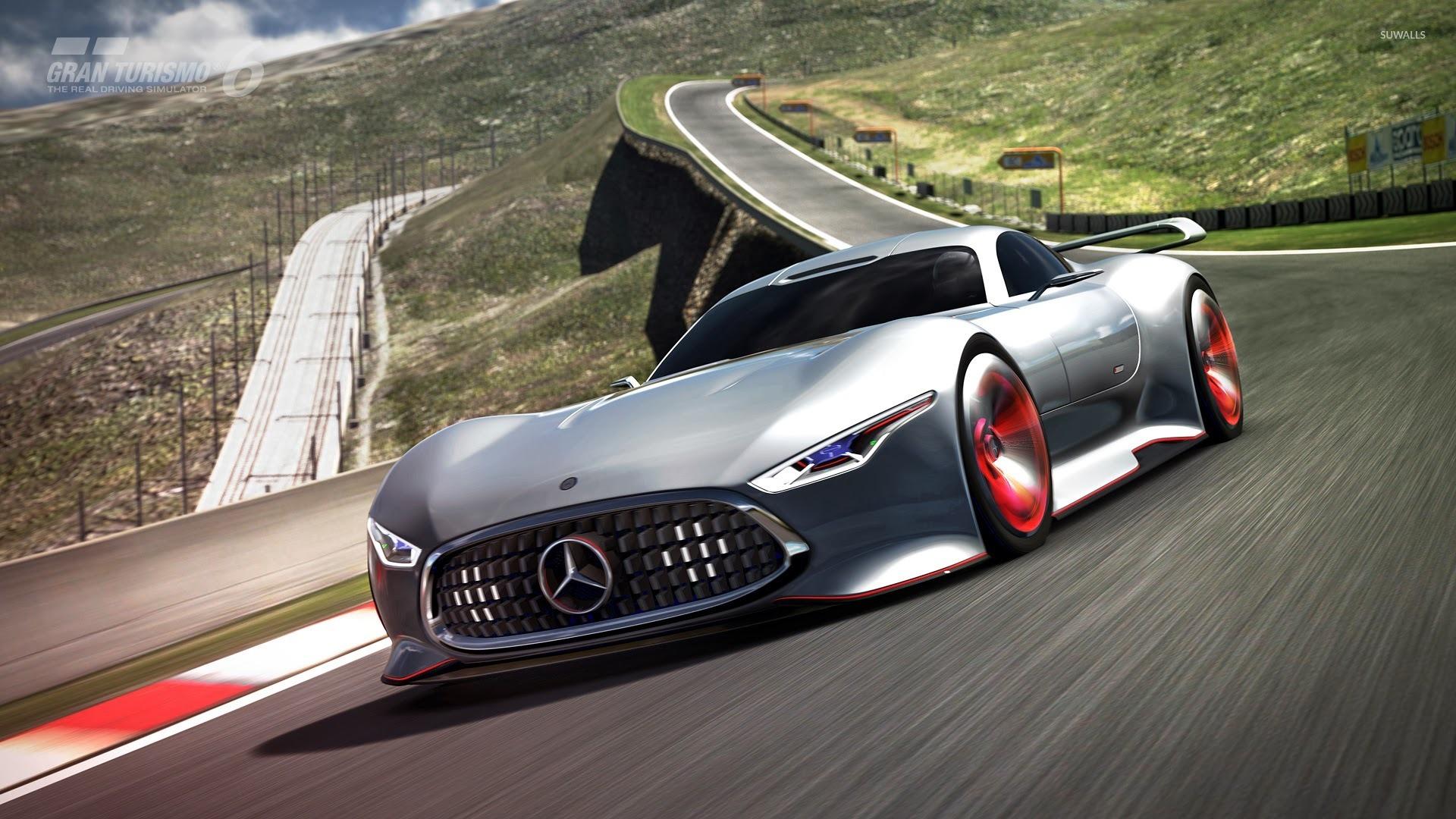 Mercedes benz amg vision gran turismo gran turismo 6 for Mercedes benz games