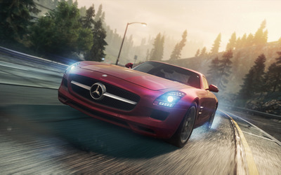 Mercedes-Benz SLS AMG - Need for Speed: Most Wanted wallpaper