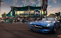 Mercedes-Benz SLS AMG - World of Speed wallpaper 1920x1080 jpg