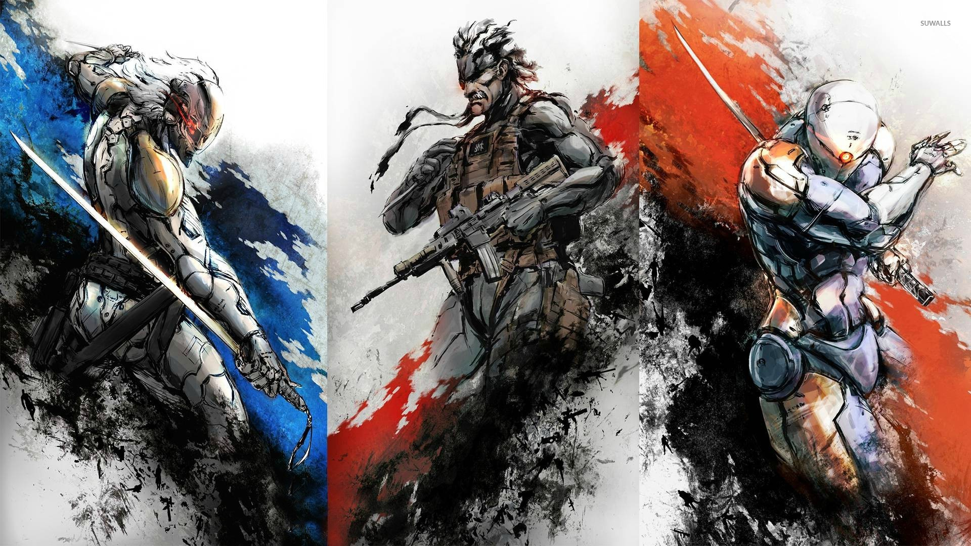 metal gear wallpaper - game wallpapers - #24465