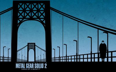 Metal Gear Solid 2: Sons of Liberty wallpaper
