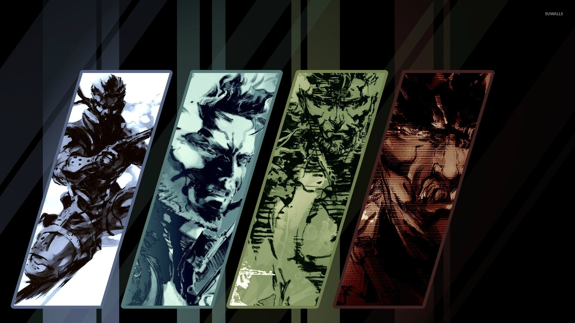 Metal Gear Solid 4 Guns Of The Patriots Wallpaper Game