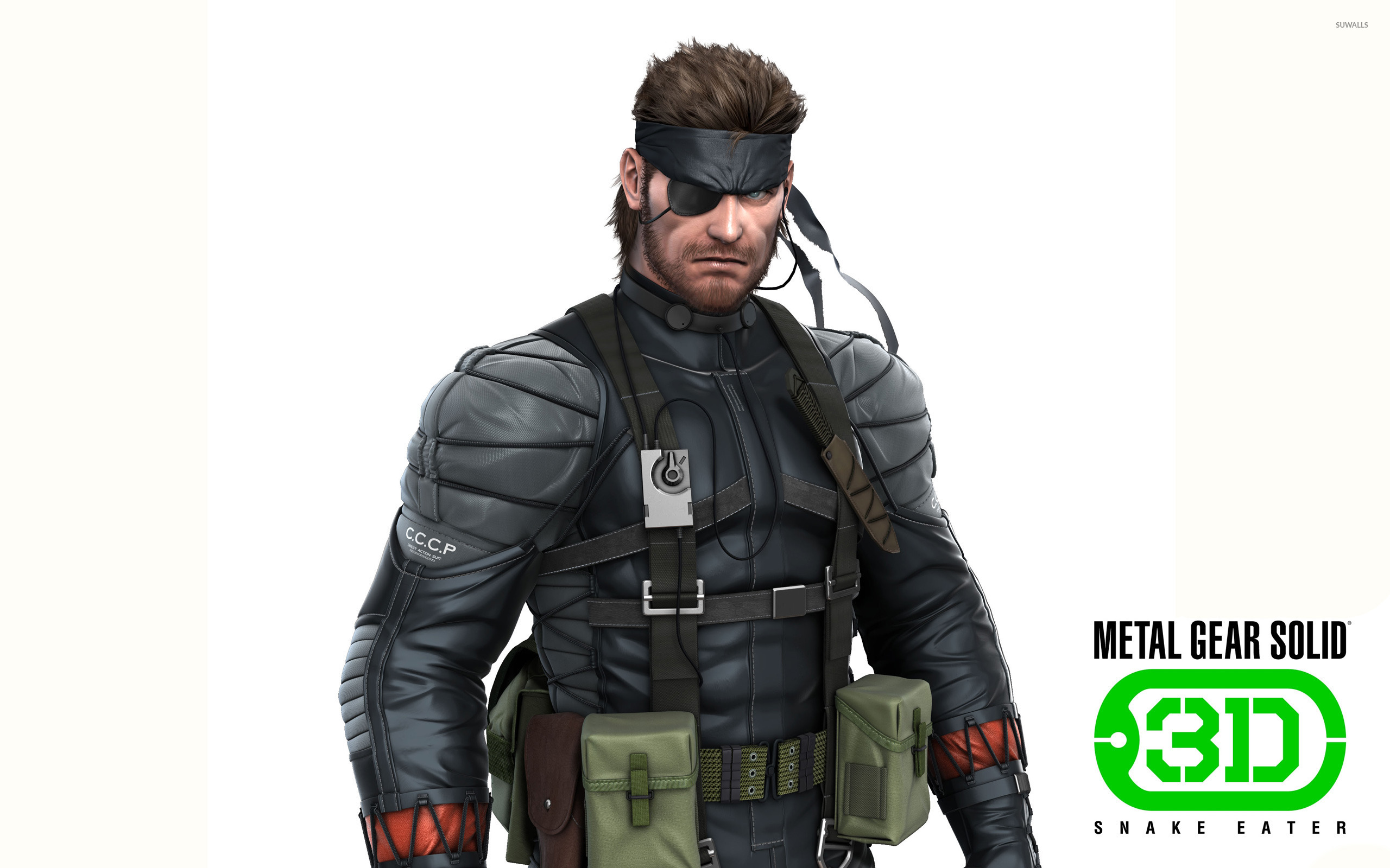 Metal Gear Solid Snake Eater 3d 3 Wallpaper Game Wallpapers