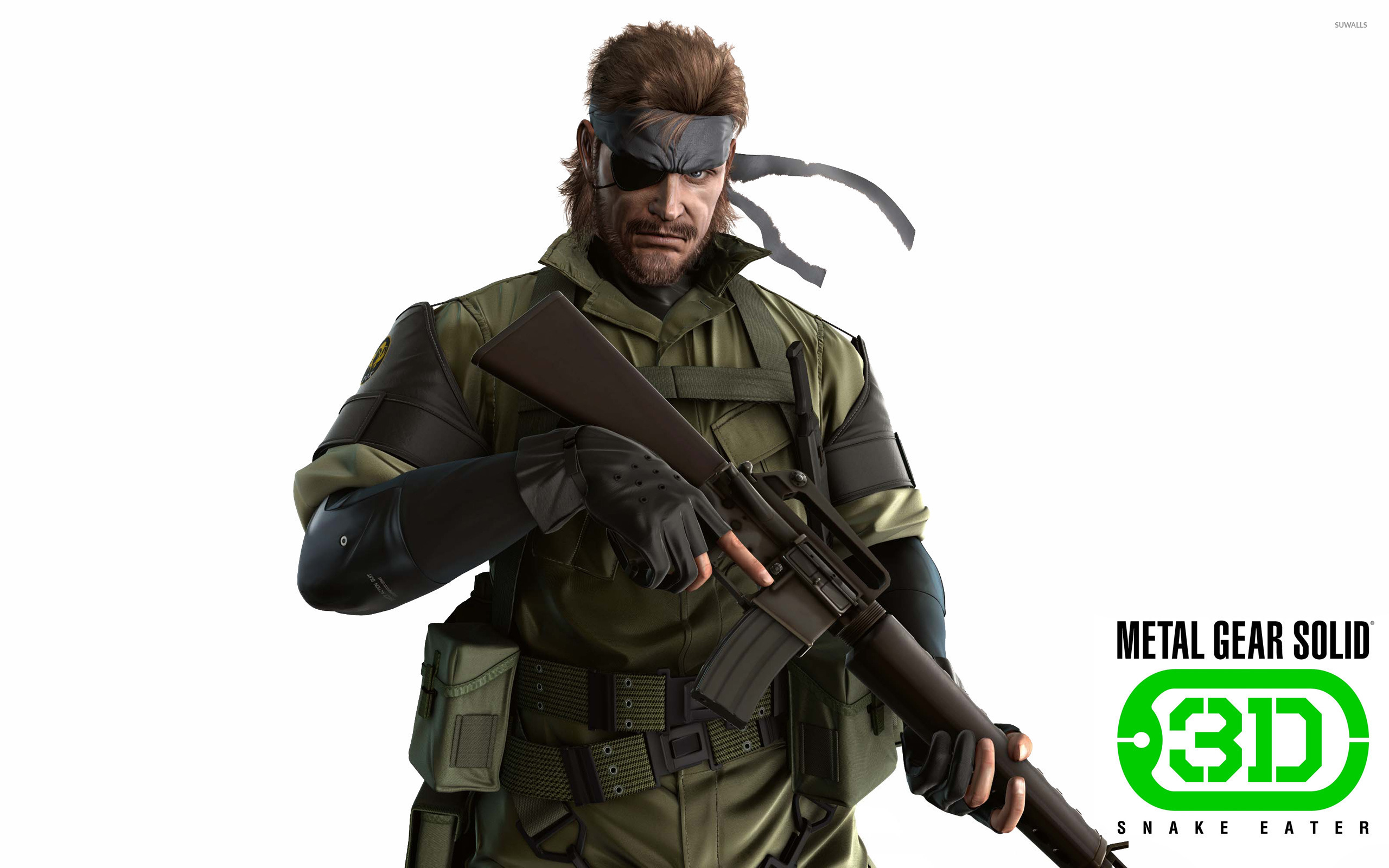 Metal Gear Solid Snake Eater 3d Wallpaper 535652