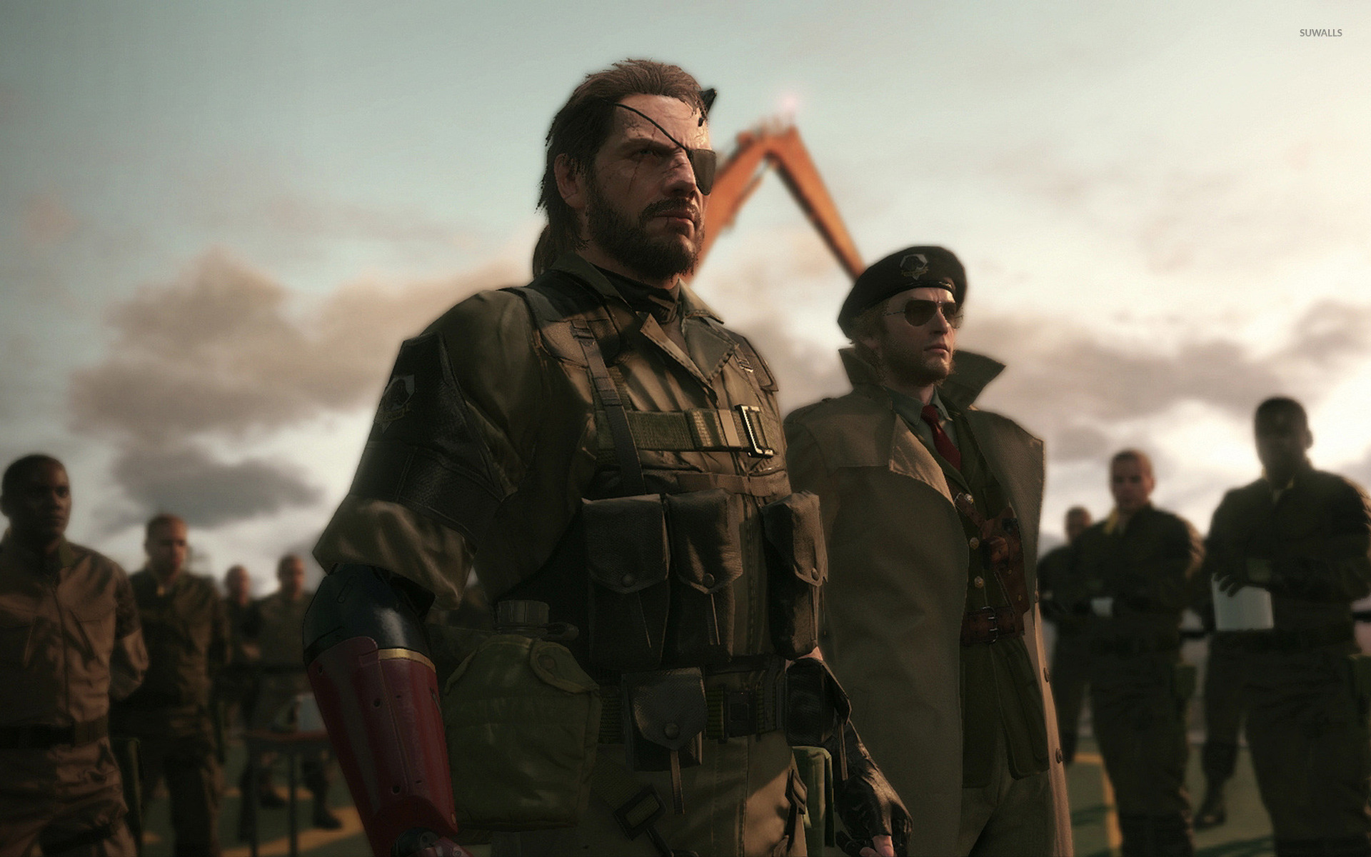 metal gear solid v the phantom pain wallpaper game