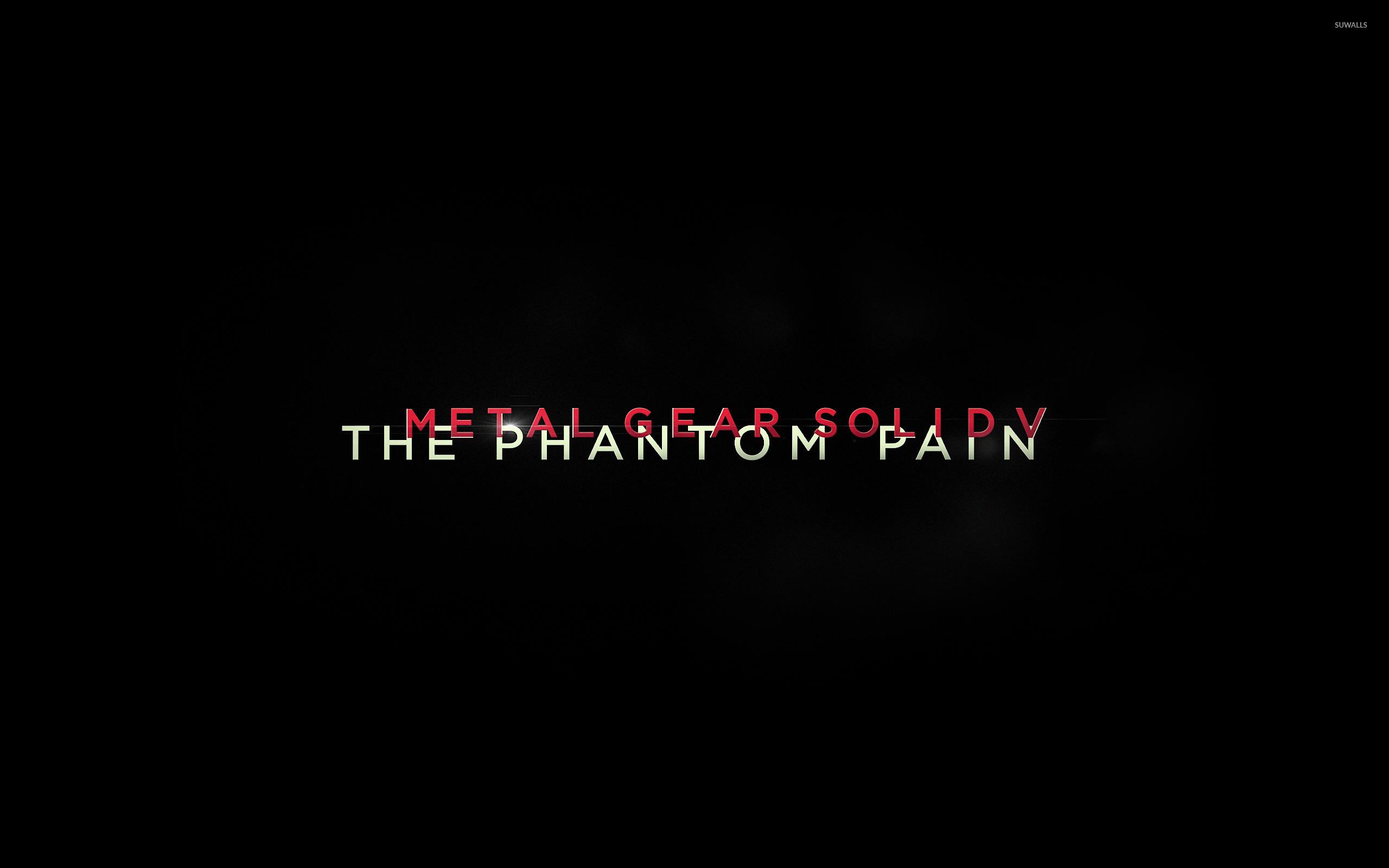 Metal Gear Solid V The Phantom Pain 4 Wallpaper Game