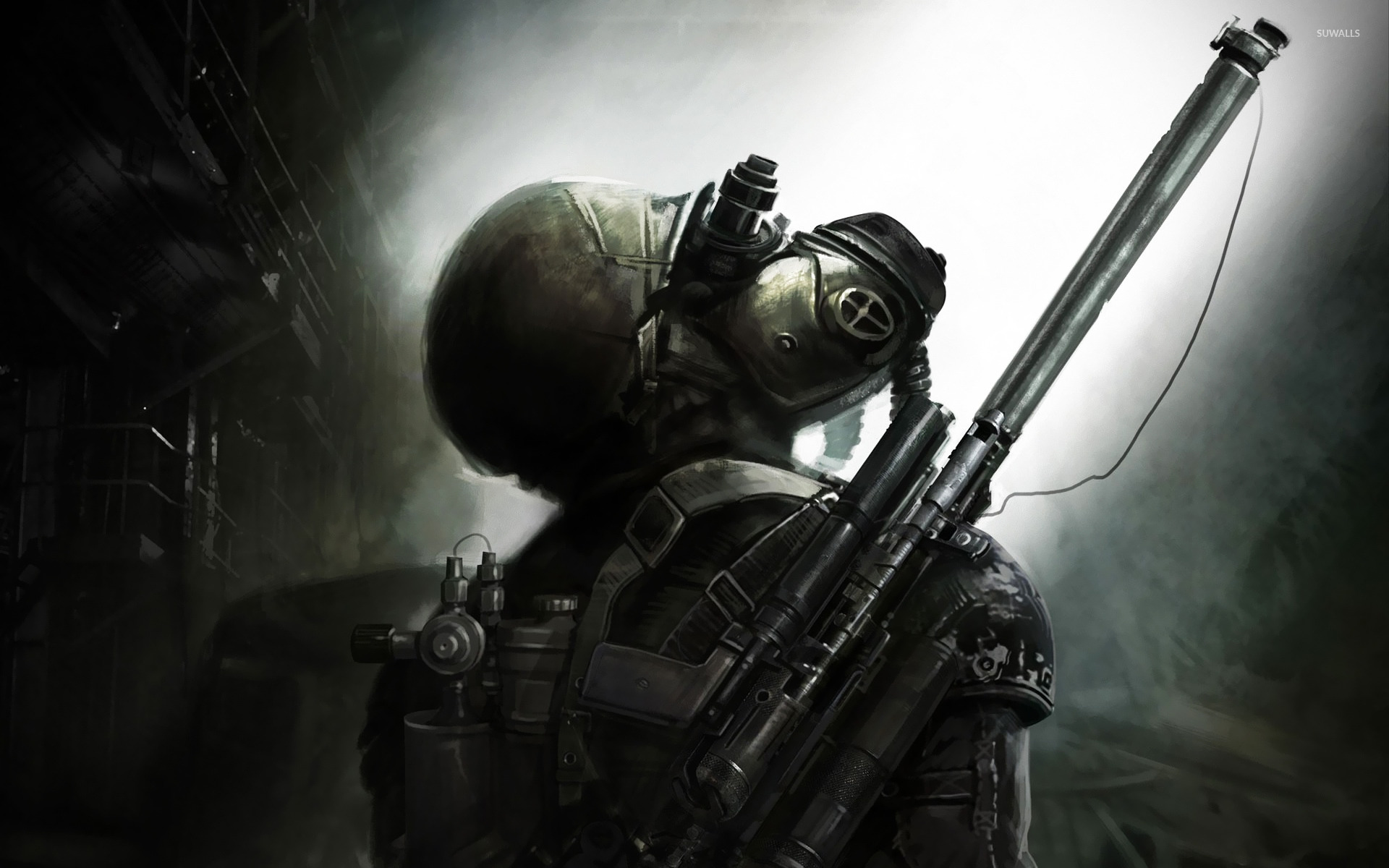 Metro Last Light 5 Wallpaper Game Wallpapers 20512
