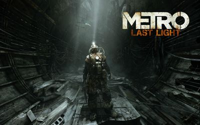 Metro - Last Light wallpaper