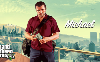 Michael - Grand Theft Auto V wallpaper